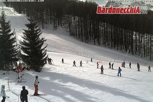 Bardonecchia, Neve 14 Feb 2014