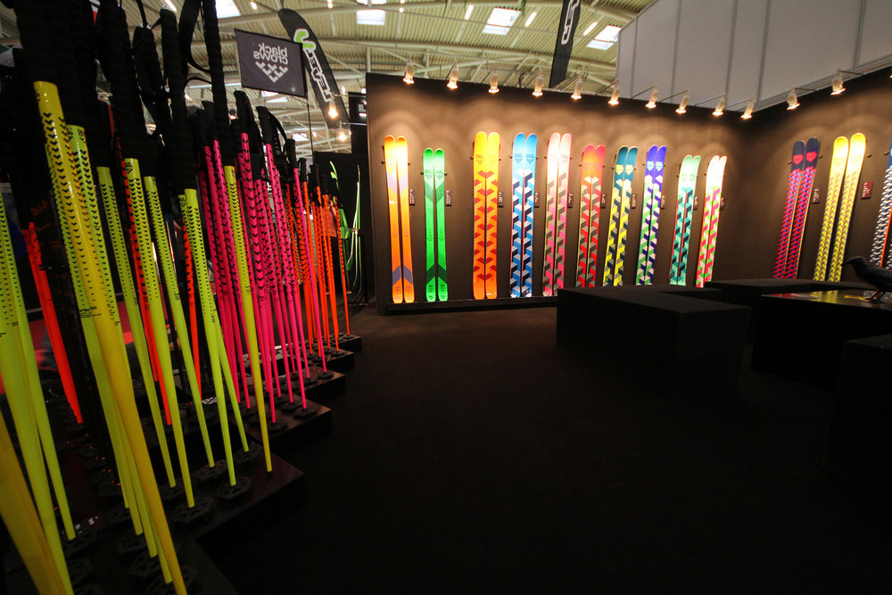 Black Crows skis at ISPO 2014 - ©Skiinfo