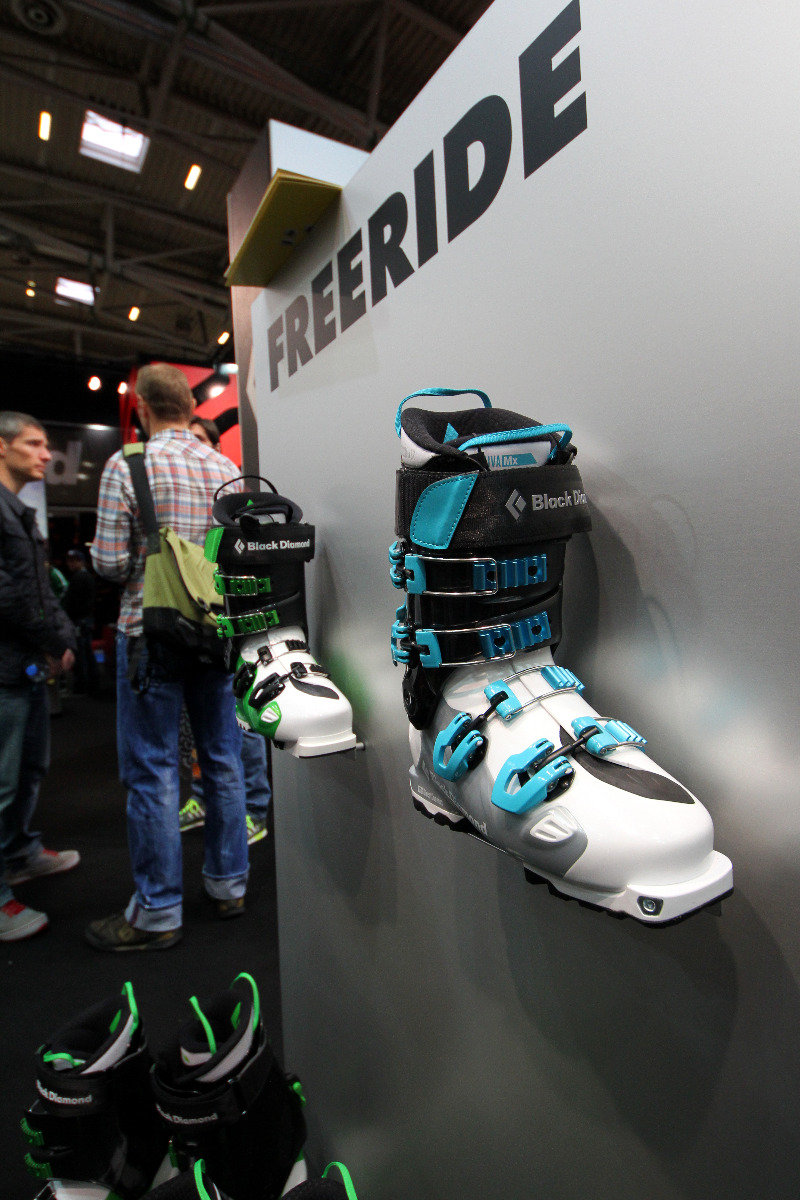 Black Diamond freeride boots - ©Skiinfo