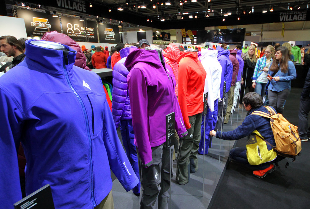 Black Diamond stand ISPO 2014 - ©Skiinfo