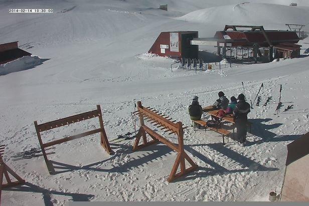 Campo Imperatore, Neve 14 Feb 2014
