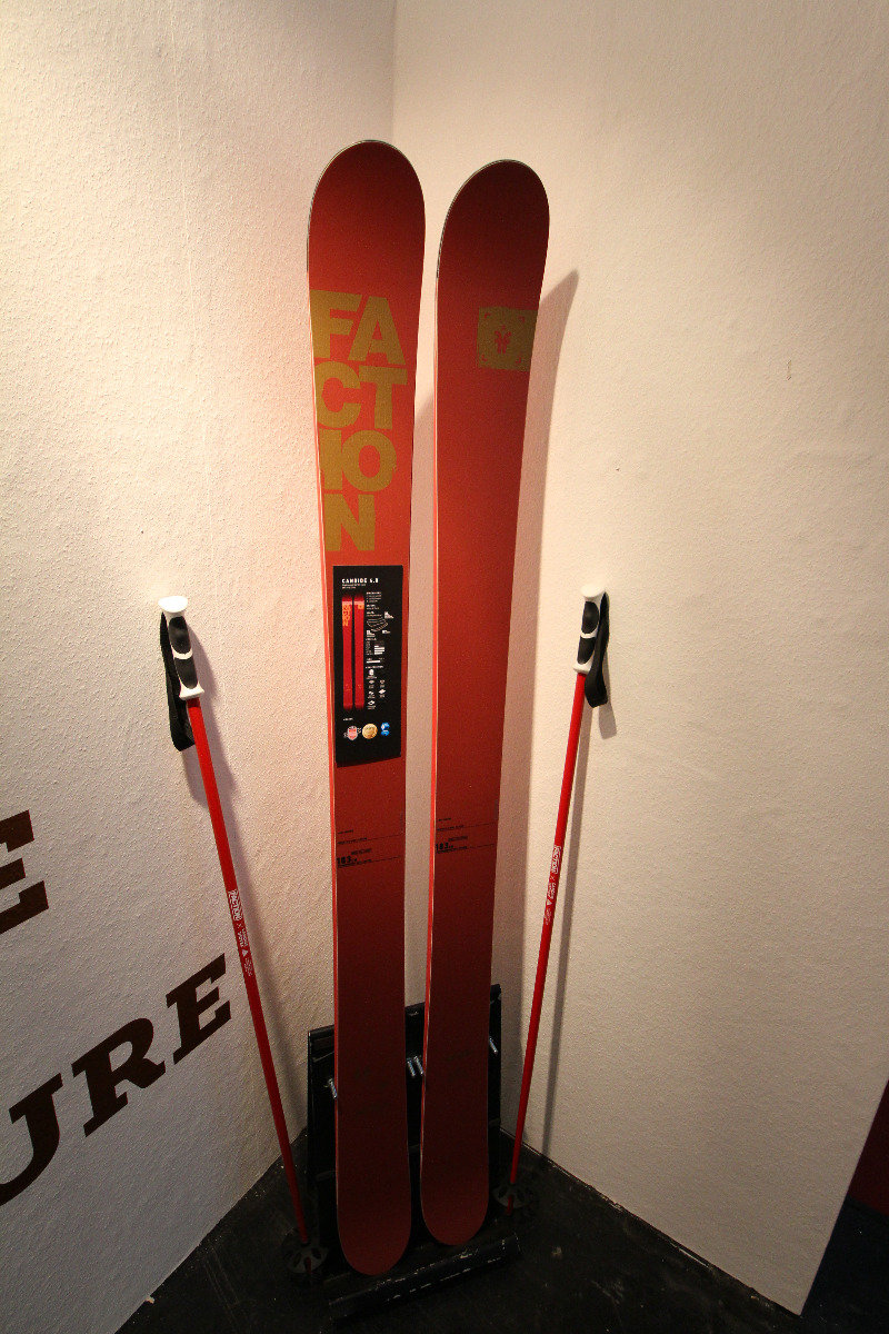 Candide Thovex 4.0 backcountry skis - ©Skiinfo