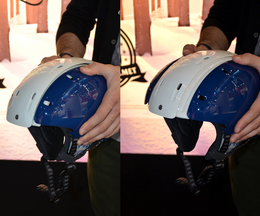Carrera foldable helmet - © Skiinfo