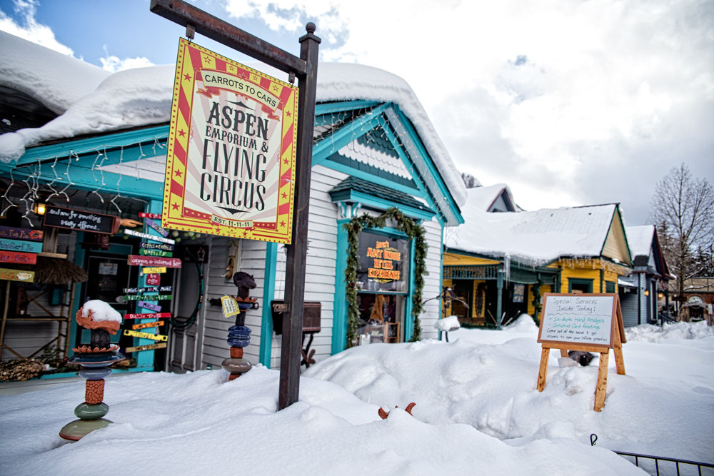 Character is deeply embedded in Aspen's history. - ©Liam Doran