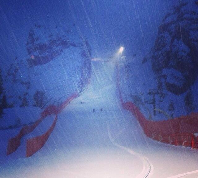 Cortina d'Ampezzo op 17 januari 2014