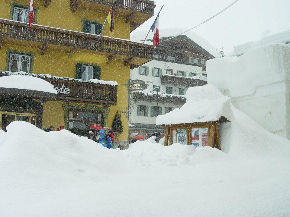 Het Italiaanse Cortina op 31 januari 2014
