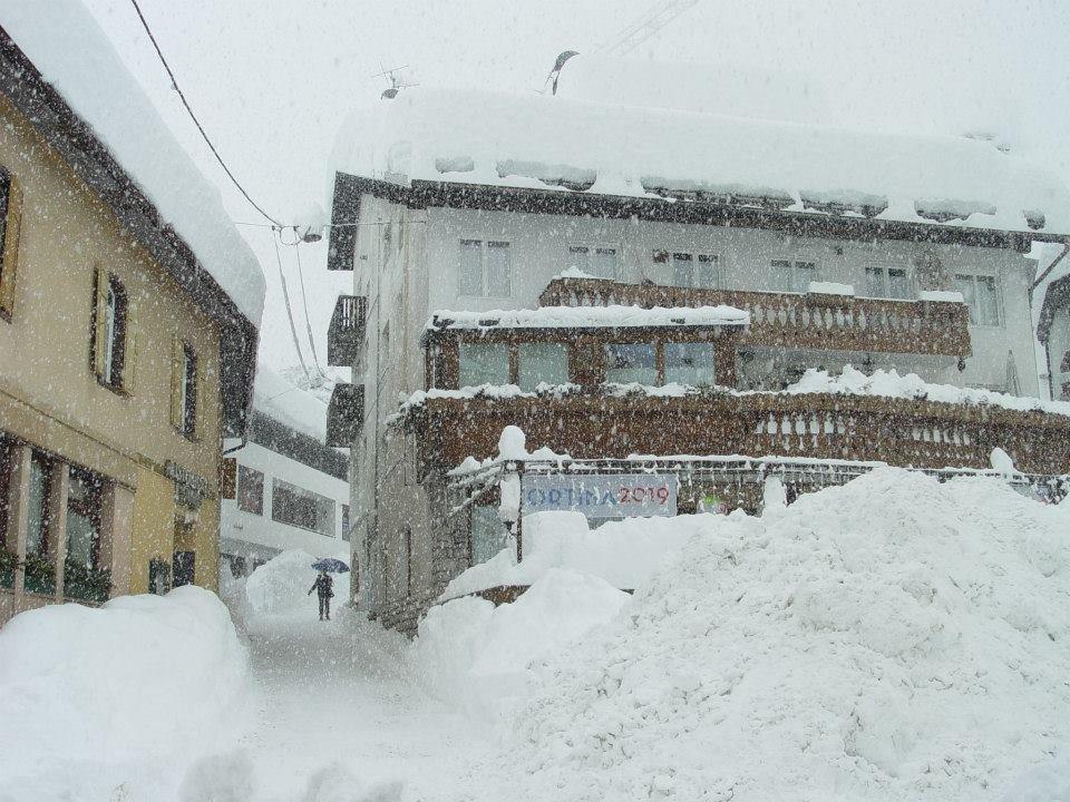 Cortina d'Ampezzo am 31. Januar 2014