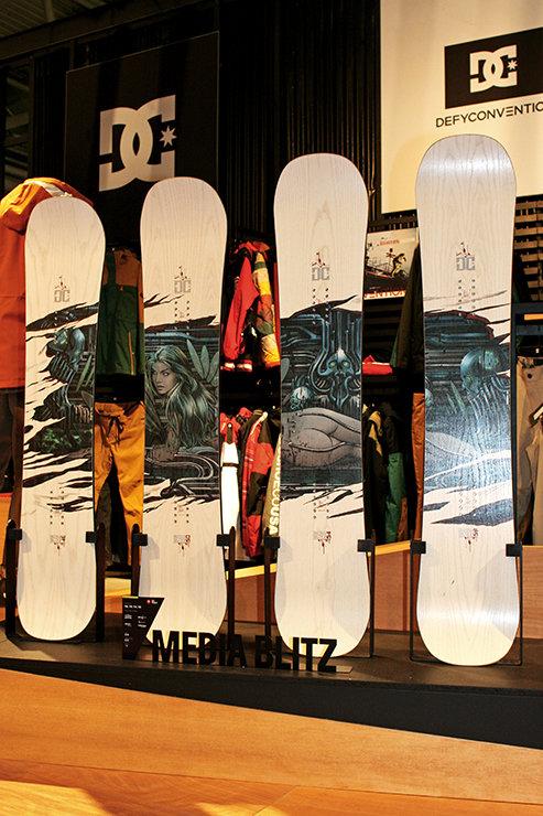 DC Media Blitz Quiver Torstein Horgmo Signature Snowboard - ©Stefan Drexl