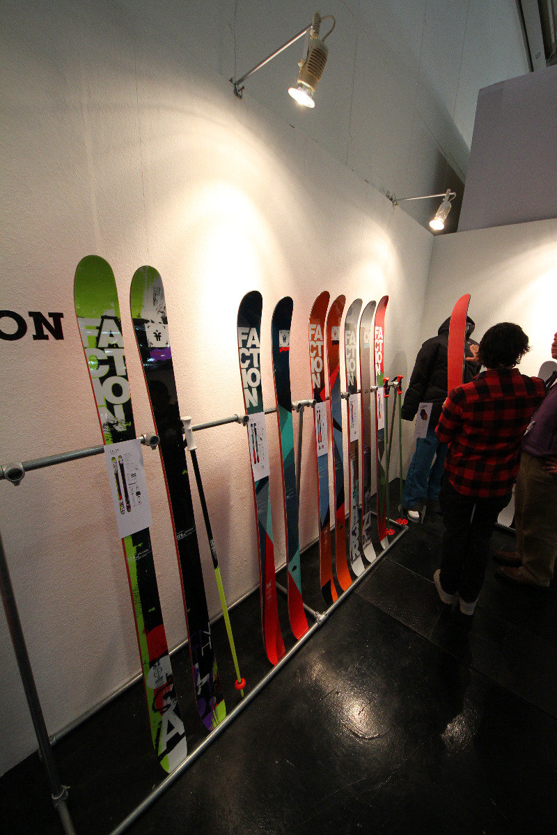 Faction Ski at ISPO - ©Skiinfo