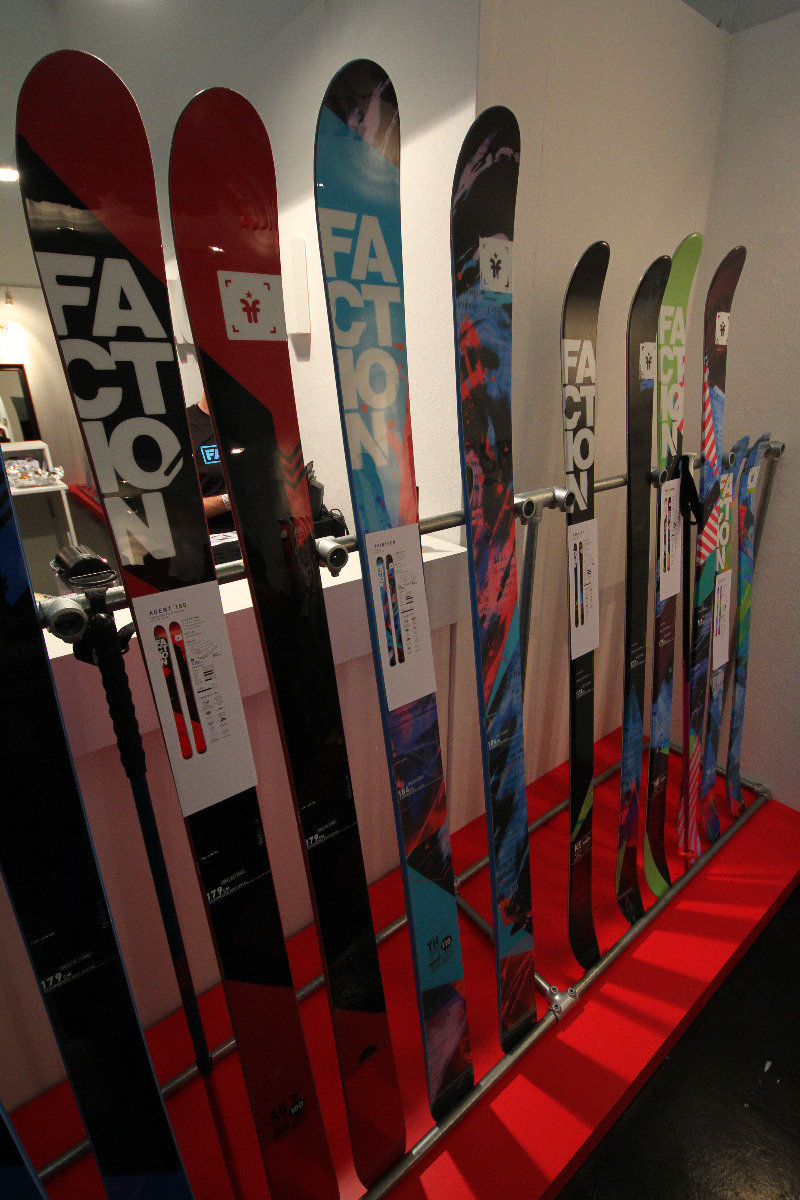 Factions skis at ISPO 2014 - ©Skiinfo