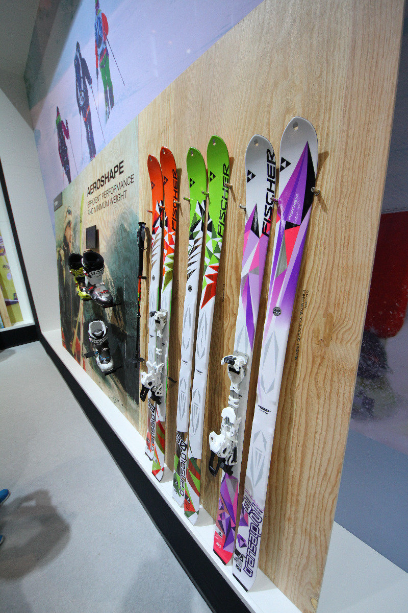 Fischer skis at ISPO 2014 - ©Skiinfo