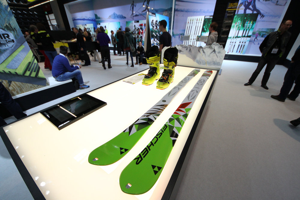 Fischer touring skis at ISPO 2014 - ©Skiinfo