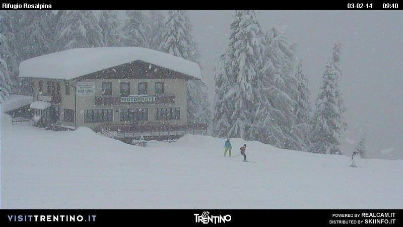 Folgarida Marilleva, Neve fresca 3 Feb 2014
