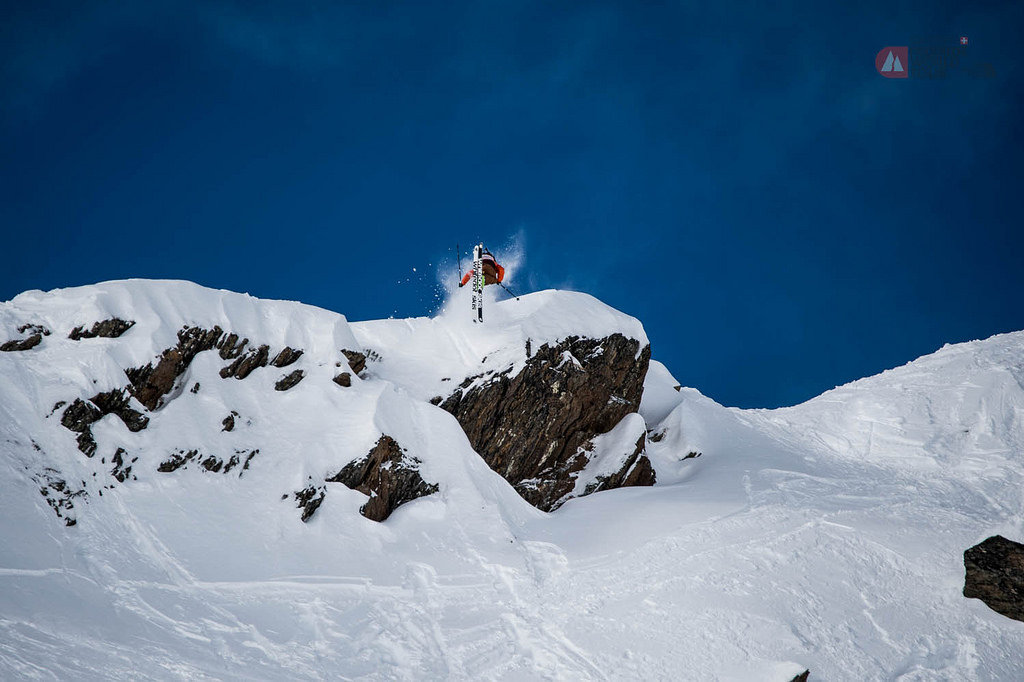 Freeride World Tour am 3.2.2014 in Kappl/Tirol