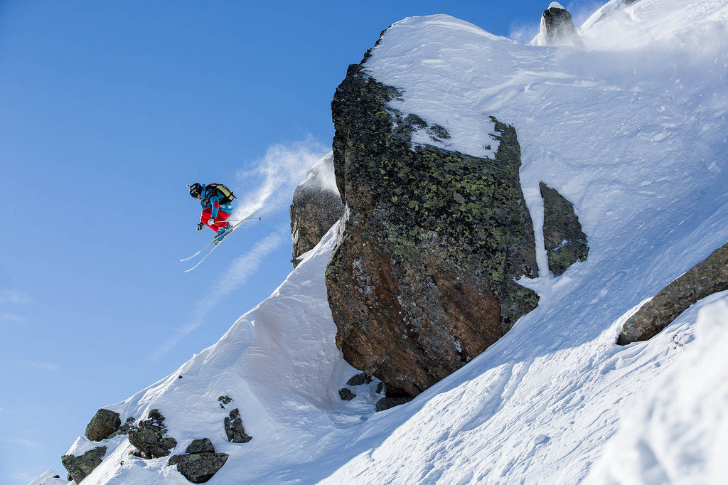 Wille Lindberg - Swatch Freeride World Tour by The North Face 2014 - Chamonix Mont Blanc - © www.freerideworldtour.com