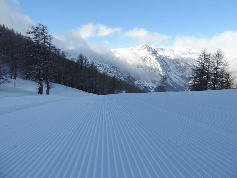 Fresh snow in Bardonecchia Jan. 15, 2014