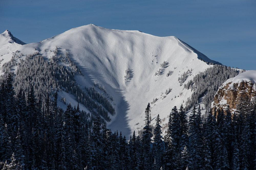Highland Bowl is the epicenter of Colorado powder skiing. - ©Liam Doran
