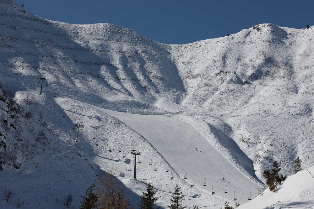 Inverno in Friuli Venezia Giulia - Zoncolan piste - © Pentaphoto
