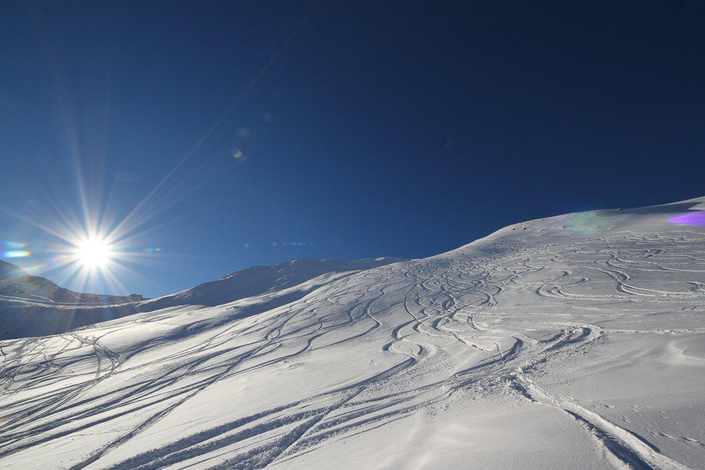 Powderspuren in Ischgl - © Skiinfo