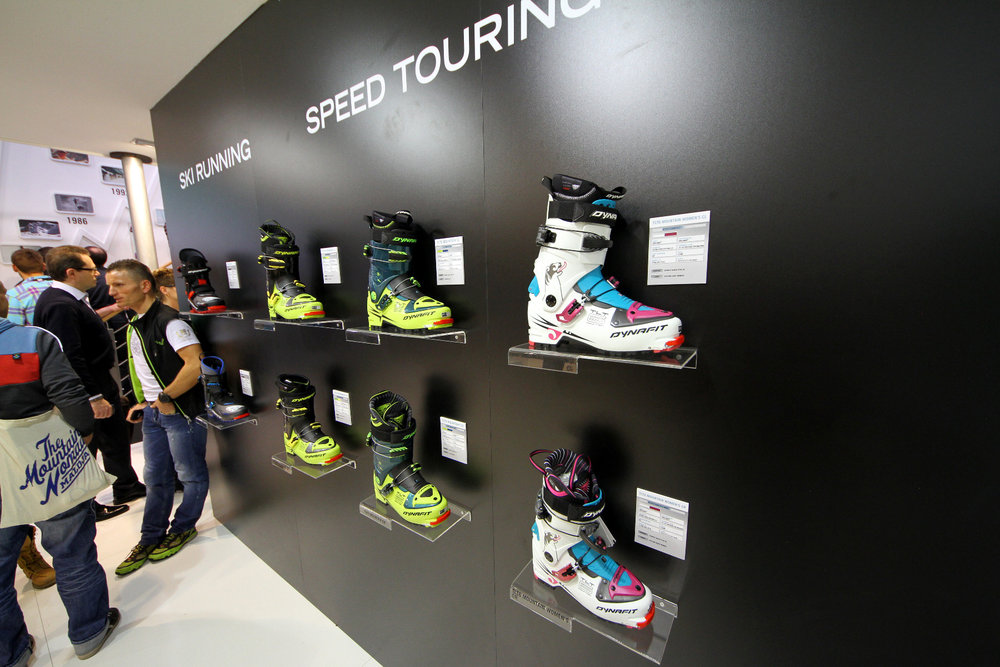 ISPO 2014 - Black Dynafit speed touring collection - ©Skiinfo