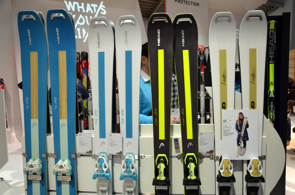 ISPO 2014 winner: Head's new Joy Collection for 2014/15 - ©Skiinfo