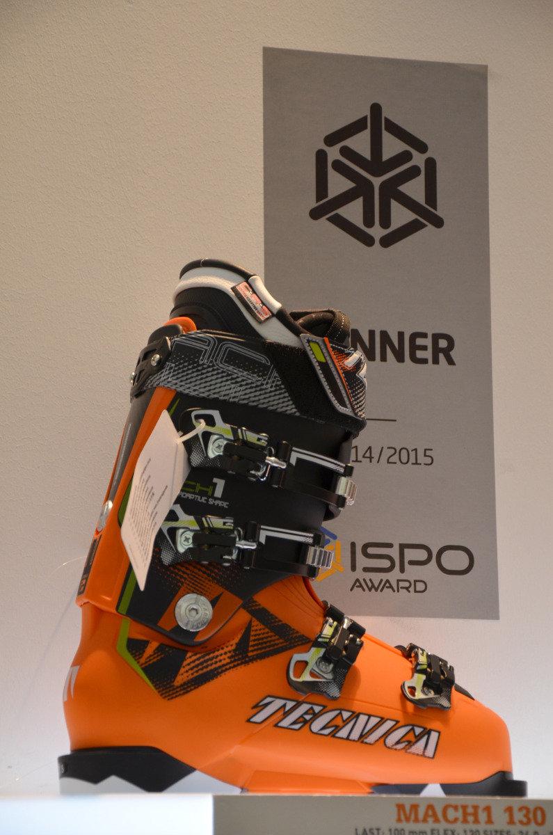 ISPO 2014 winner: Tecnica Mach 1 130 ski boots - ©Skiinfo