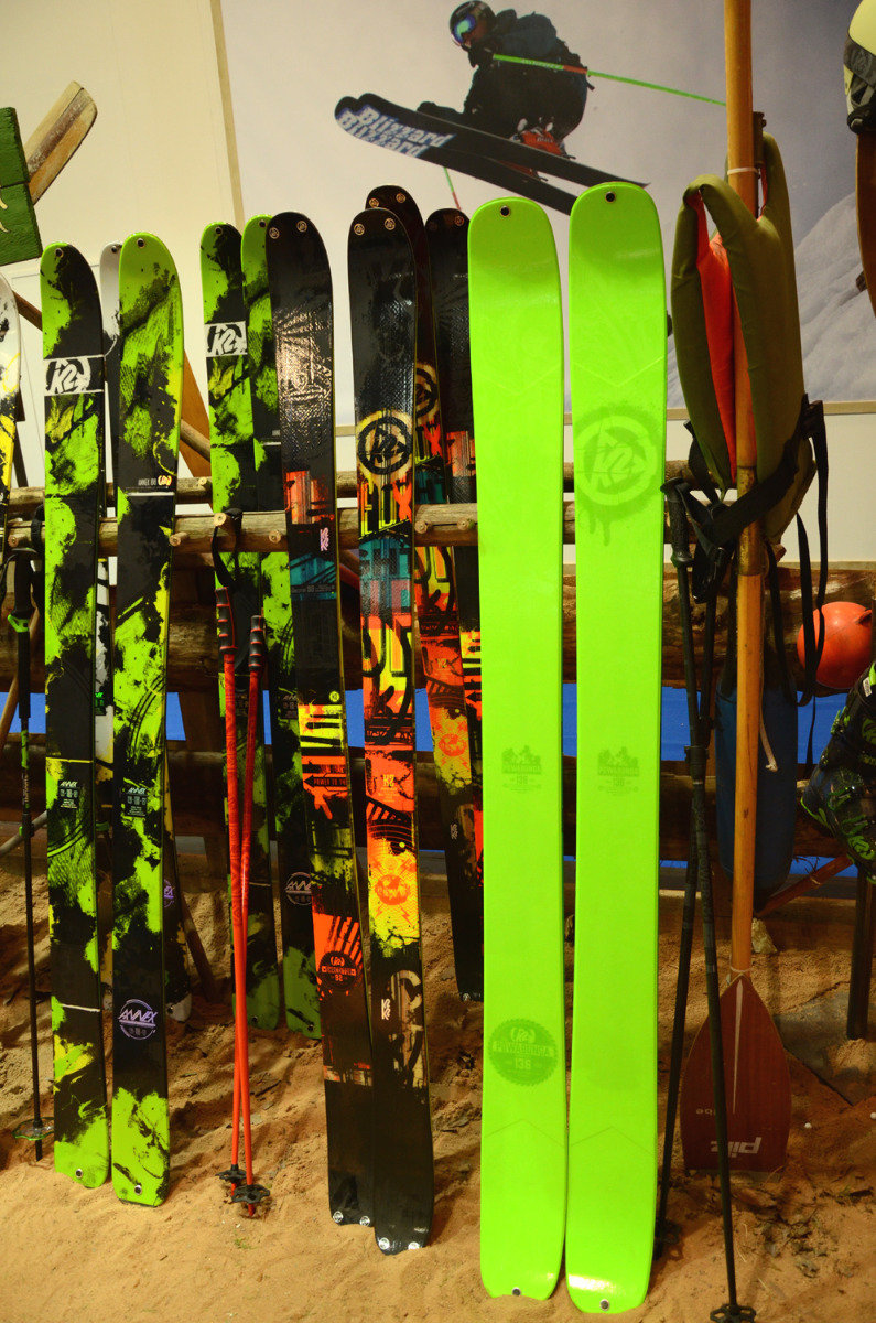 K2 Shreditor 136 Powabunga fat powder skis - ©Skiinfo