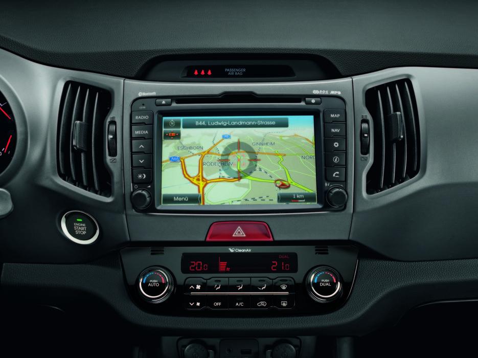 Kia Sportage 4x4 Rebel - navigatore integrato - © Kia Motors Company Italy