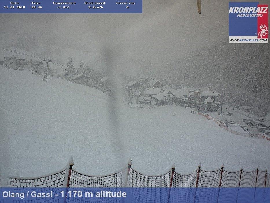 Kronplatz, Dolomites Jan. 31, 2014