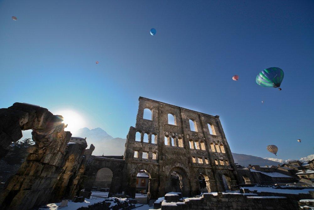 La St Valentin, l'occasion d'atteindre le 7ème ciel en montgolfière...