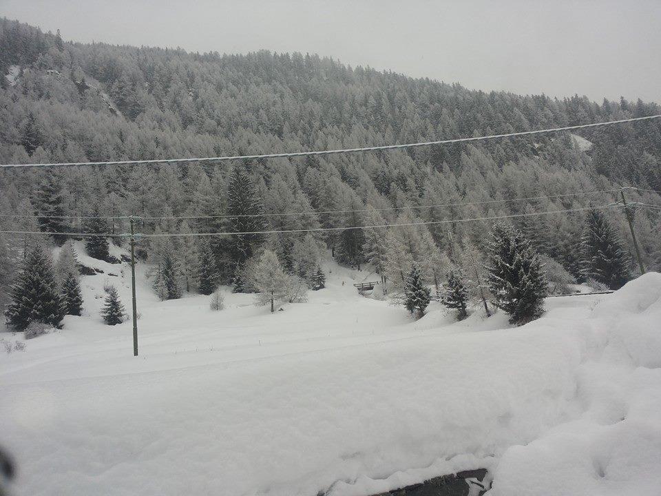 La Thuile, Neve fresca 31 Gen 2014