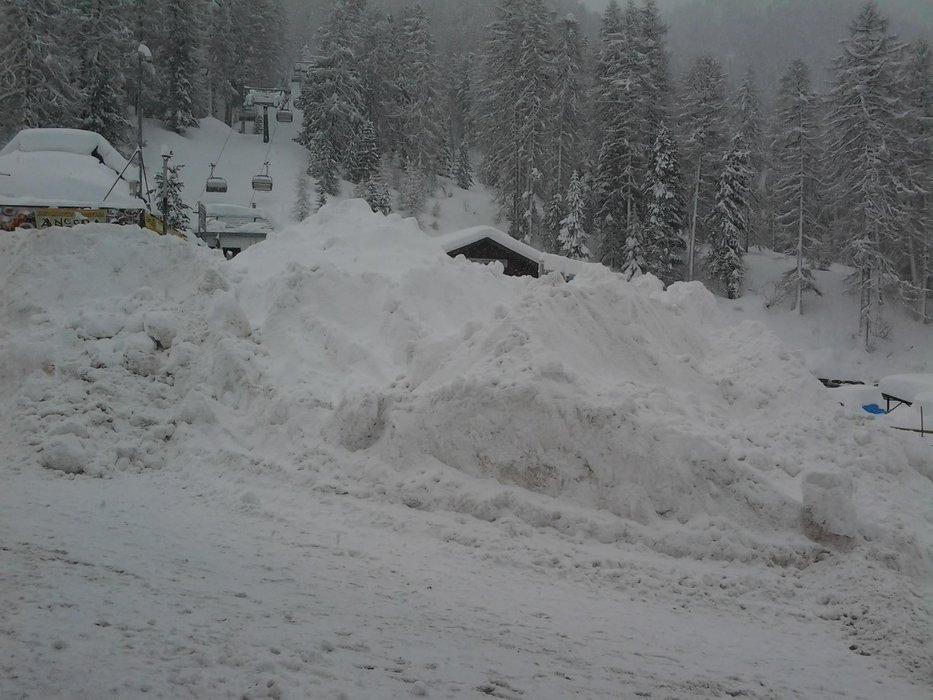 Latemar, Dolomites Jan. 31, 2014