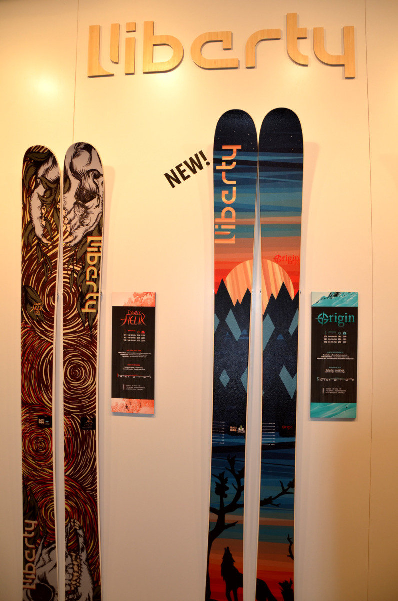 Liberty Skis Origin - ©Skiinfo