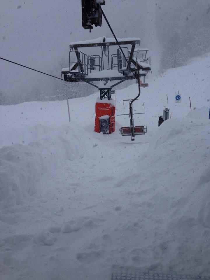 Limone P.te, Nevicata 30 Gen 2014