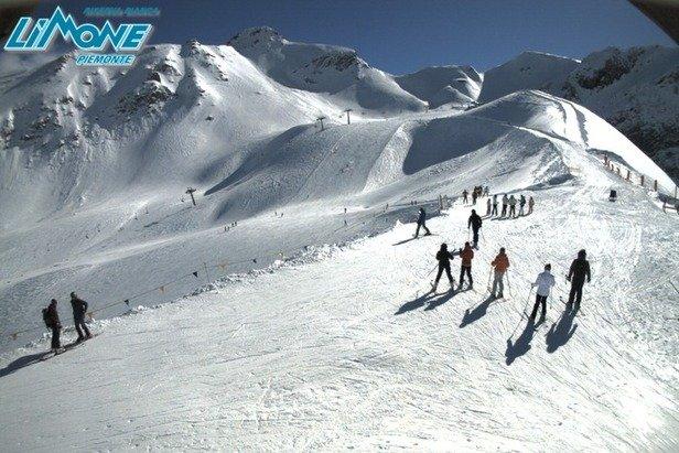 Limone Piemonte, Neve 14 Feb 2014