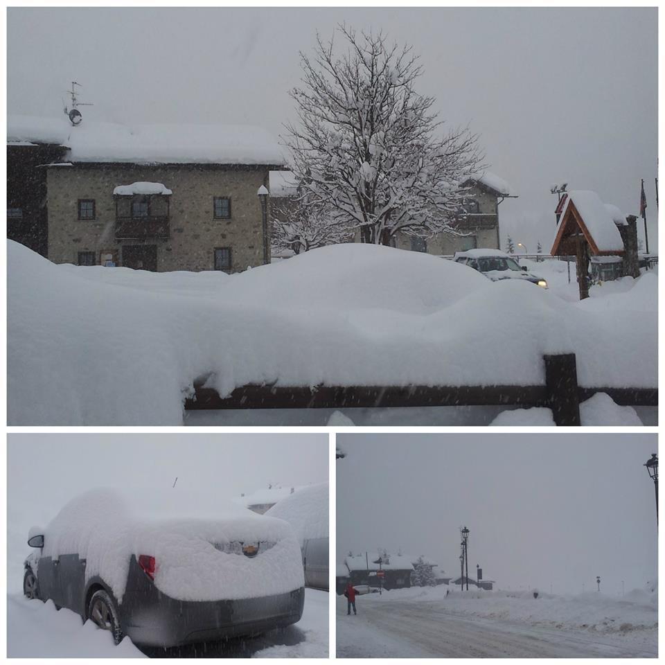 Livigno, Neve fresca 14 Gen 2014
