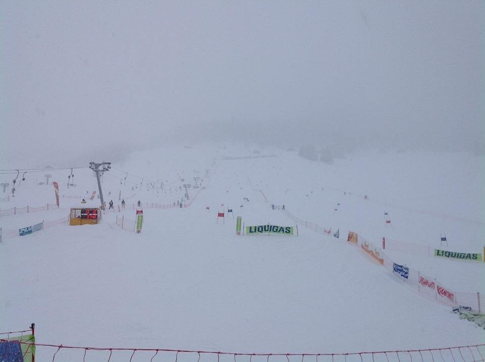 Livigno op 17 januari 2014