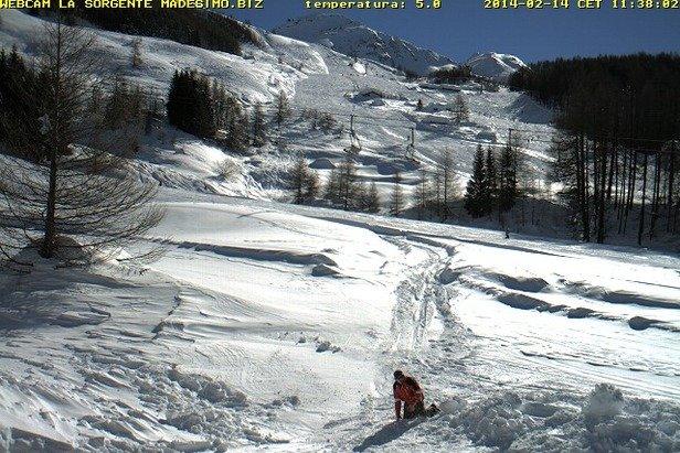 Madesimo, Neve 14 Feb 2014
