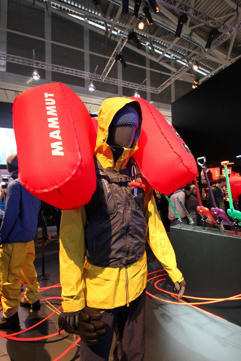 Mammut avalanche rucksack - ©Skiinfo
