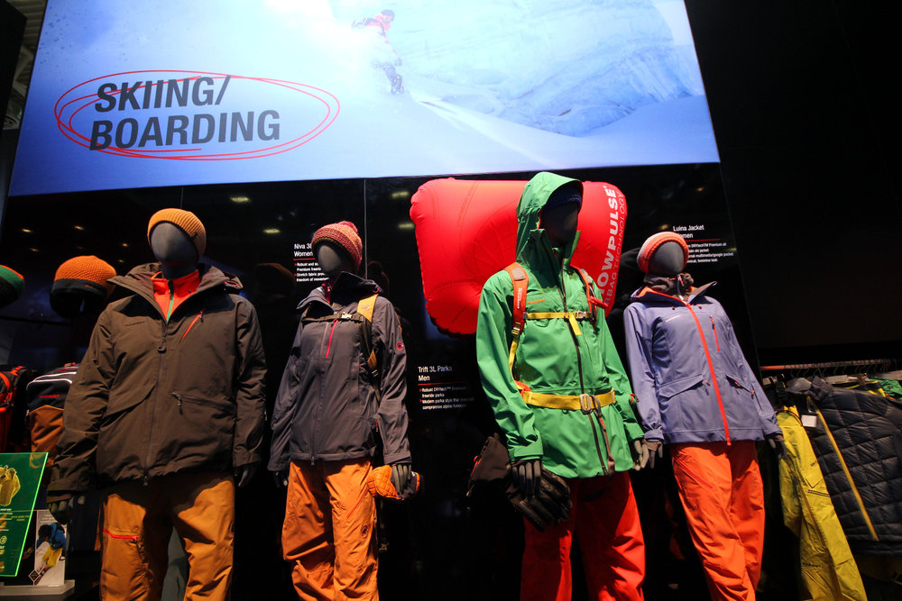 Mammut stand at ISPO 2014 - ©Skiinfo
