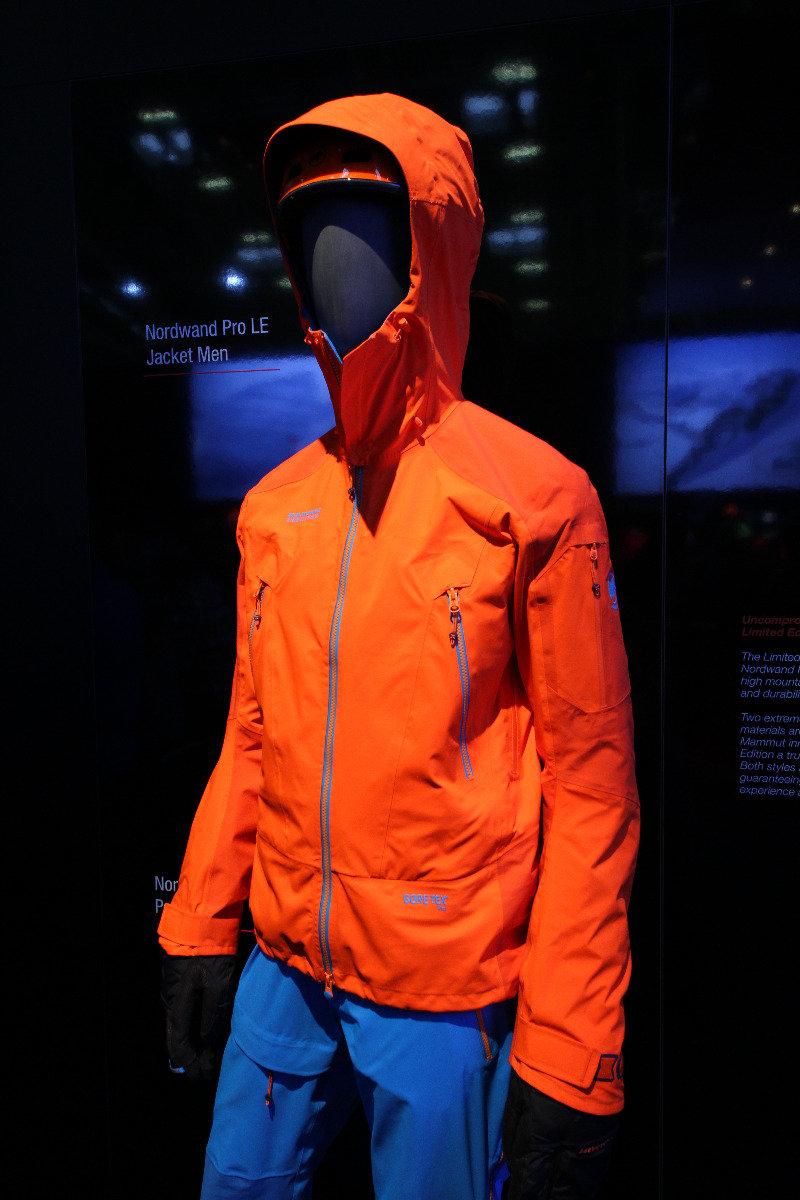 Mammut's Nordwand Pro Jacket - © Skiinfo
