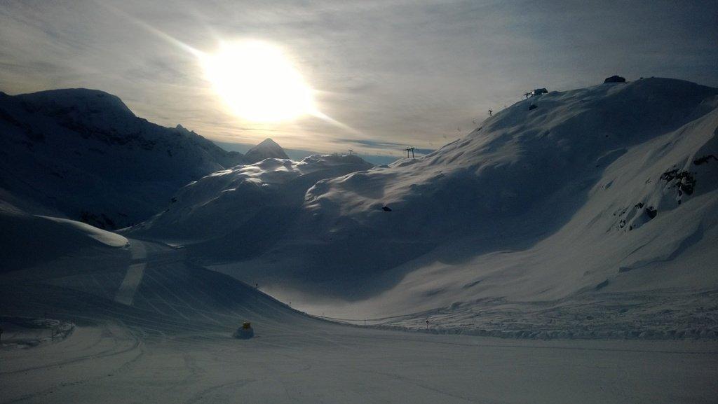 Impressionen vom Mölltaler Gletscher Anfang Februar 2014 - © Mölltaler Gletscherbahnen GmbH & Co KG