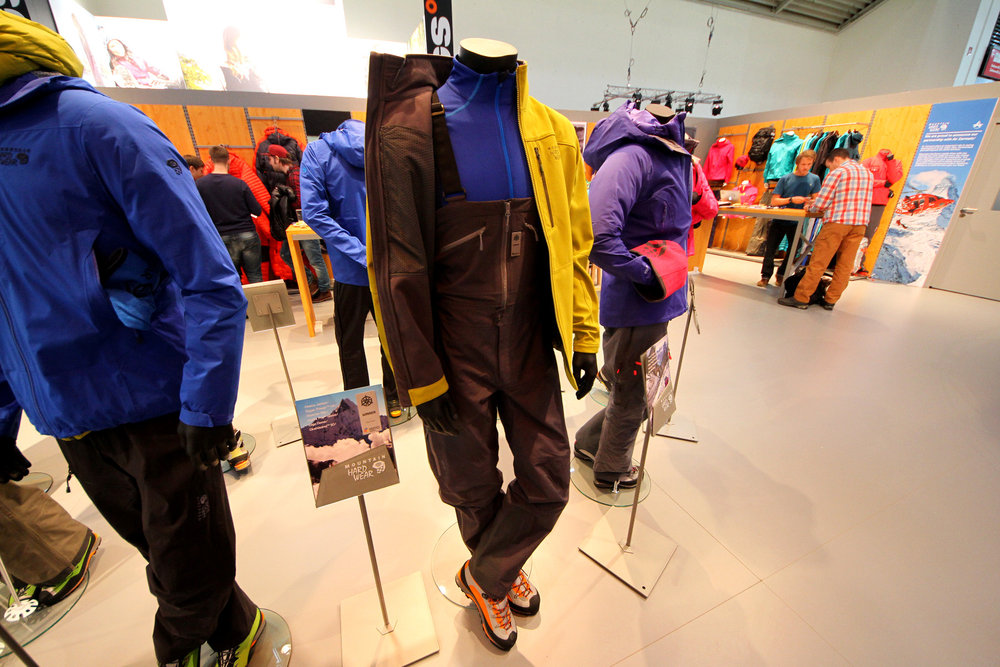Mountain Hardwear at ispo 2014 - ©Skiinfo
