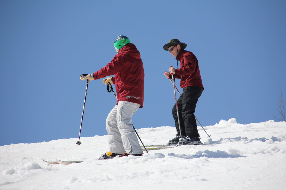 On-mountain instruction at Michigan's Crystal Mountain - ©Crystal Mountain