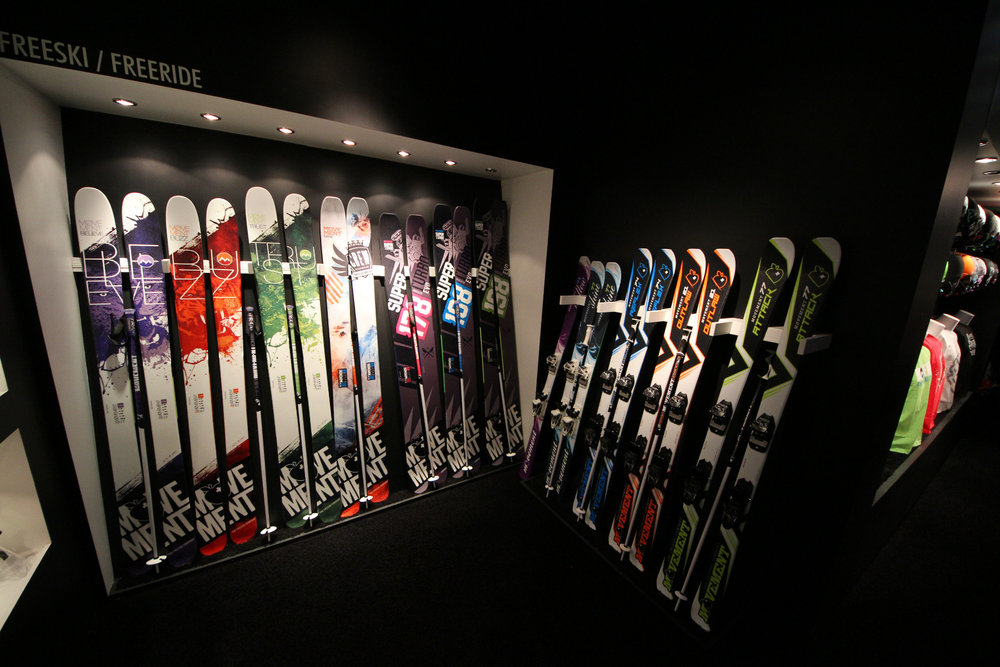 Movement Skis at ISPO 2014 - ©Skiinfo