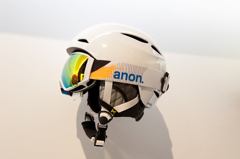 The new anon. women's Keira Helmet features magnetic locking helmet strap and BOA fit system for convenience at every click and turn. - ©Ashleigh Miller Photography