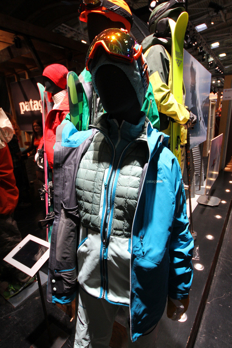 Patagonia at ISPO 2014 - ©Skiinfo