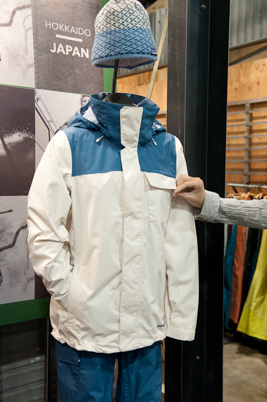 Patagonia's new-for-fall Snowbelle Jacket, a resort-centric style for the ladies.  - ©Ashleigh Miller Photography