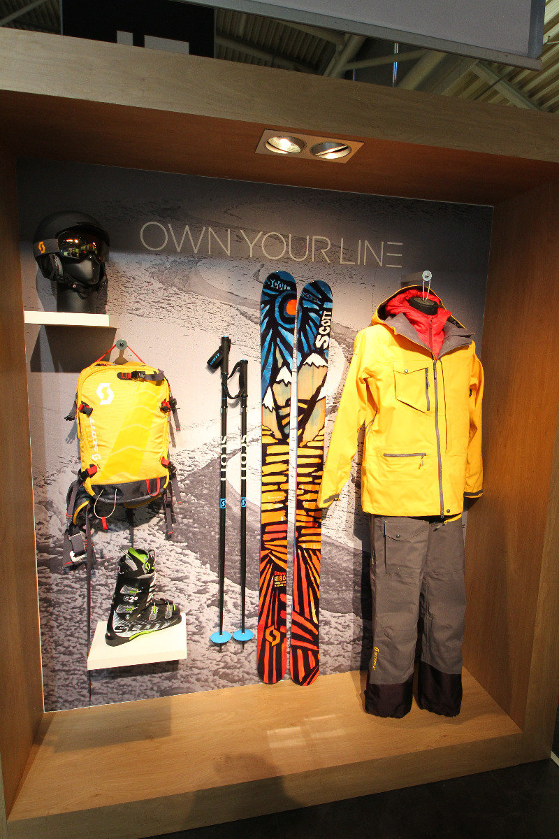 Scott stand at ISPO 2014 - ©Skiinfo