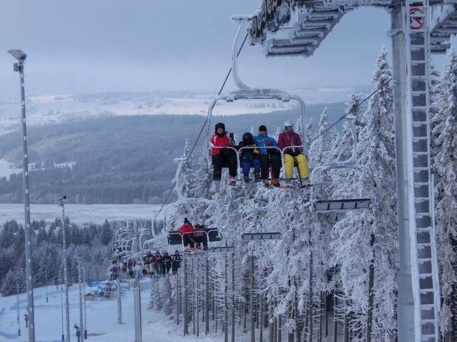 Skiareál Plešivec - © facebook Skiareál Plešivec